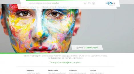 kreativne spletne strani