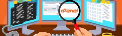 cPanel nadzorna plošča